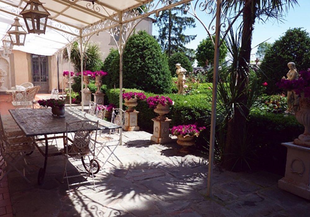 giardino milvia interno
